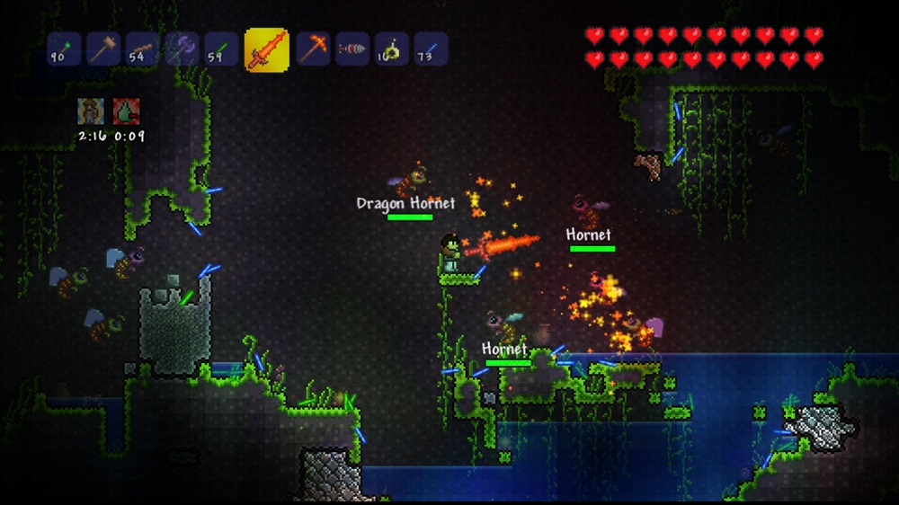 Terraria on the Xbox 360